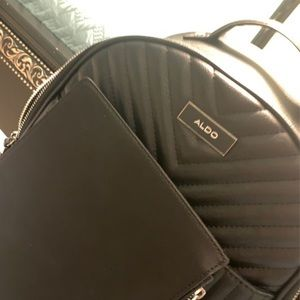 Bags - Aldo backpack with wallet